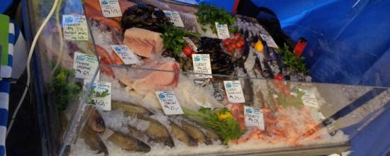 Rybáři z Rybárny Praha na trzích